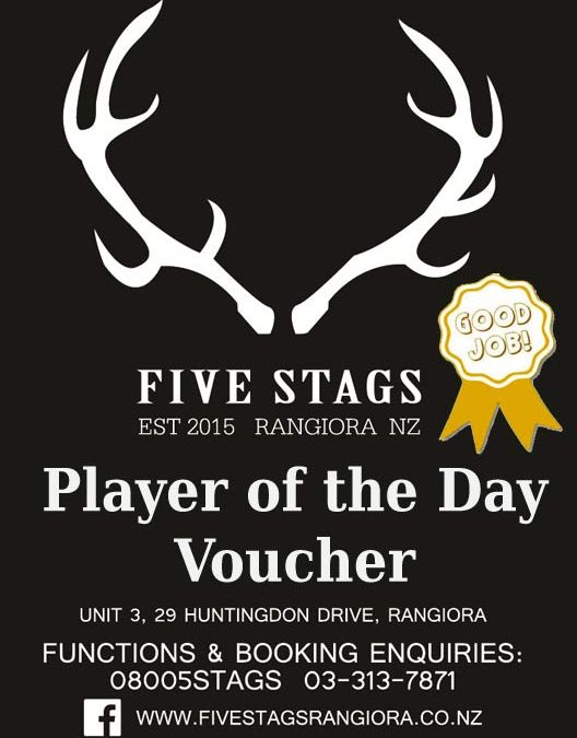 Player of the Day Vouchers
